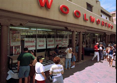 Image result for 1997 - After 117 years, the Woolworth Corp. closed its last 400 stores.