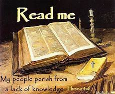 Image result for my people perish for a lack of knowledge