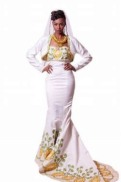 Image result for queen of amina wedding dress
