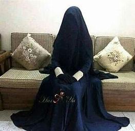 Image result for Image Arab women in Complete Purdah. Size: 211 x 204. Source: www.pinterest.se