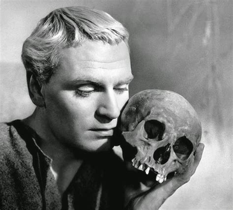 Image result for images olivier hamlet skull of yorick