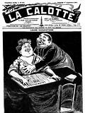 Résultat d'image pour Journal '' la Calotte '' 1911
