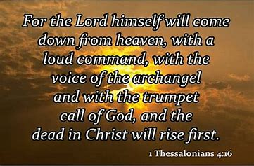 Image result for The dead in Christ rise first