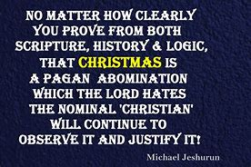 Image result for Christmas Is Pagan