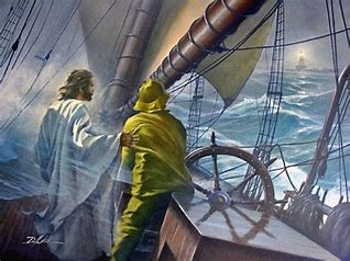 Image result for Jesus is with us in the storms
