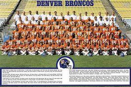 Image result for 1999 Denver Broncos team picture