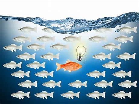 Image result for fish going opposite way