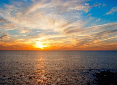 Image result for free photos of sunset on the ocean