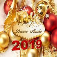 Résultat d'images pour bonne année 2019