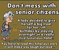 Image result for Funny Senior Citizen Quotes. Size: 119 x 100. Source: airfreshener.club