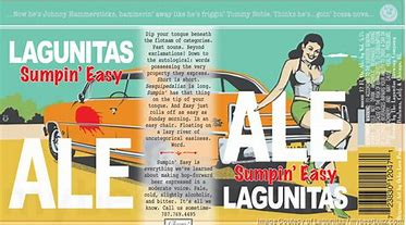 Image result for lagunitas sumpin easy