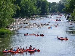 Image result for floating down the river