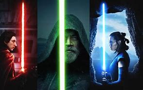 Image result for rey kylo luke
