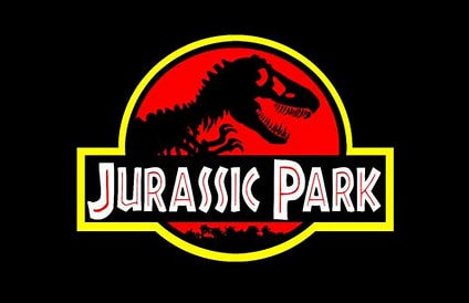 Image result for Jurassic Park Logo. Size: 212 x 137. Source: www.theverge.com