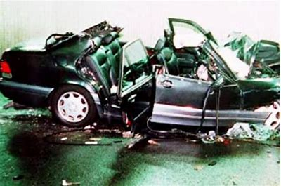 Image result for princess diana car crash images