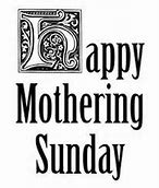 Image result for mothering sunday religious clip art