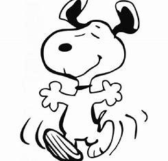 Image result for Dancing Snoopy Emoticon