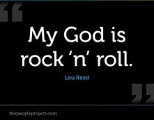 Image result for is rock music god honoring?