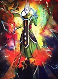 Image result for Whis vs Space Battles. Size: 118 x 160. Source: comicvine.gamespot.com
