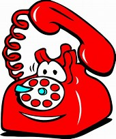 Image result for Telephone Cartoon Clipart