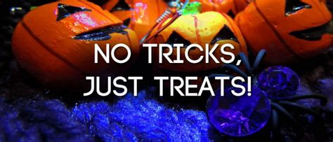 Image result for no tricks just treats