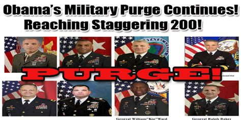Image result for Obama Purging General's