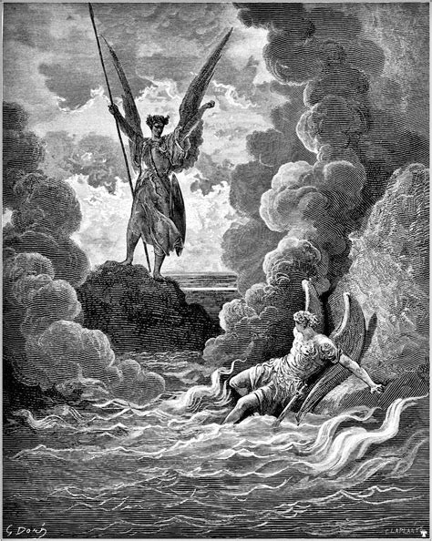 Image result for dore images paradise lost