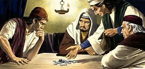 Image result for judas betrayed jesus for 30 pieces of silver
