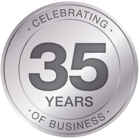 Image result for pics of 35th business anniversary