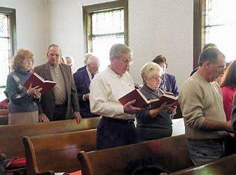 Image result for Images of Congregation Singing Hymn