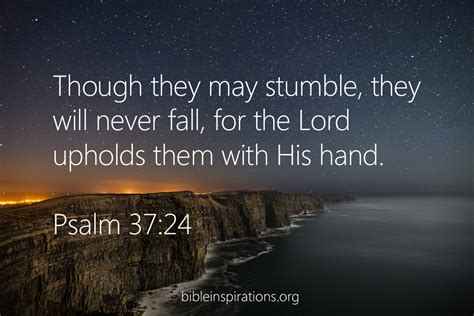 Image result for images for Psalm 37:24