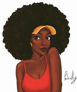 Résultat d'images pour femme noir dessin