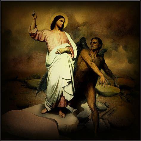 Image result for images christ's temptation in the desert