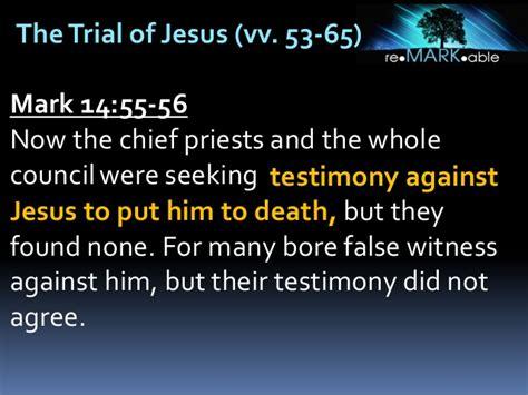 Image result for mARK 14:57 Jesus Christ
