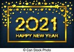 Image result for New Year Clip Art 2021
