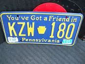 Image result for you've got a friend in pennsylvania license plate