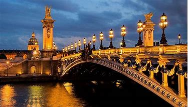 Image result for images of paris by night