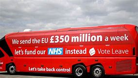 Image result for red bus referendum 2016