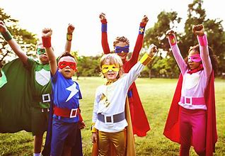 Image result for kids dressed as super heroes