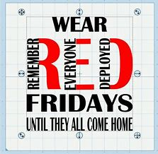Image result for Friday we wear red pictures