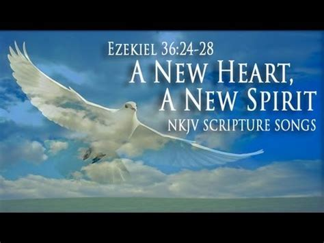 Image result for God will give you a new heart and a new spirit