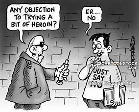 Image result for drug addict cartoon