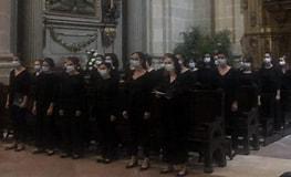 Tamaño de Resultado de imágenes de Coro Easo Donostia.: 263 x 160. Fuente: www.diariovasco.com