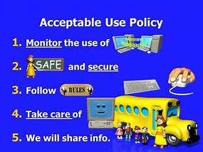Image result for acceptable technology use policy