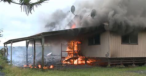 Image result for Hawaiian volcano Kilauea homes