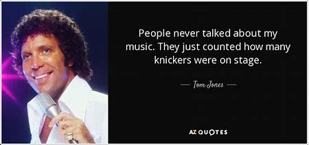 Image result for tom jones knickers being thrown images