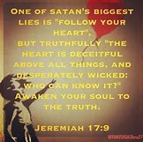 Image result for Satan's lies to Christians about God