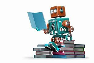 Image result for images of robot writing book