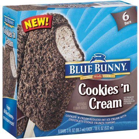 Image result for blue bunny ice cream bars