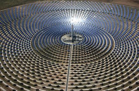 Image result for Solar Mirror Farm